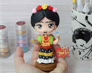 Toy chibi Frida Kahlo