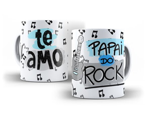 CANECA PAPAI DO ROCK