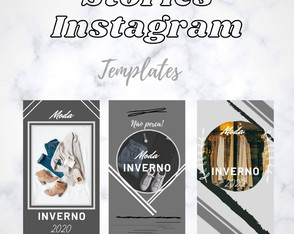 Templates Personalizados para Stories do Instagram
