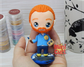 Toy kawaii Van Gogh
