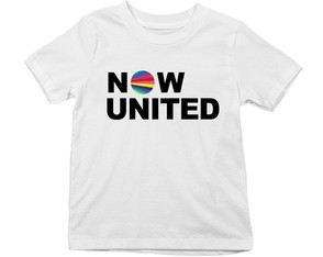 Camiseta infantil Now United