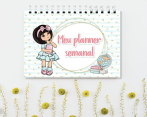 Mini Planner Semanal Cute