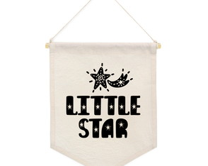 Flâmula Decorativa para Quarto Infantil - Little Star