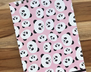 Sketchbook Papel Pólen Pandas
