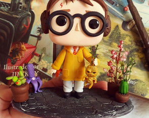 Funko pop Biscuit Harry Potter Herbologia
