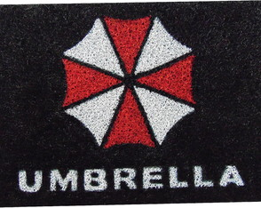 Tapete Capacho Resident Evil - Umbrella Corporation