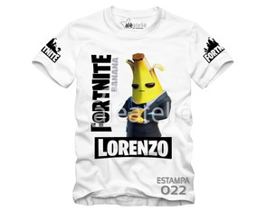 Camiseta Fortnite Agente Banana Skin Battle Personalizada
