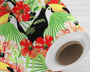 TNT estampado - Tropicano - 5 metros