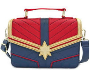 Bolsa Feminina Loungefly Disney/Marvel Original