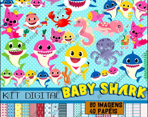 Kit Digital Baby Shark