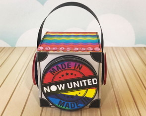 Caixa Cubo - Now United