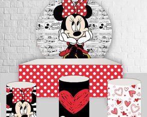 Kit Arte Digital Para Painel Minnie - C.946