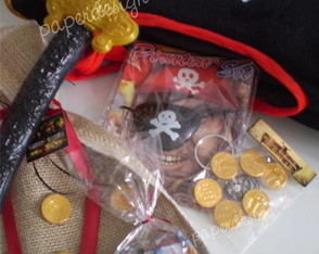 Piratas do Caribe - Kit