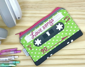 Necessaire Fita K7 - Love Songs