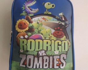 BOLSA PERSONALIZADA PLANTS VS ZOMBIES