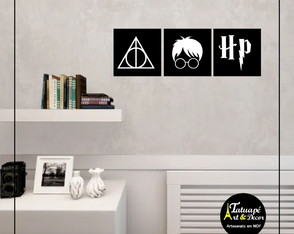 Placa Harry Potter
