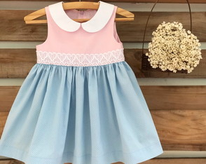 Vestido infantil candy color