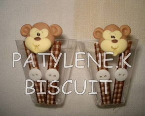copinho-decorado-macaco-de-biscuit