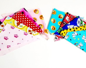 Kit com 8 Lenço Bandanas Pet