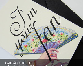 cartao-vintage-press-i-m-your-fan