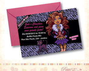 convite-monster-high-clawdeen-wulf