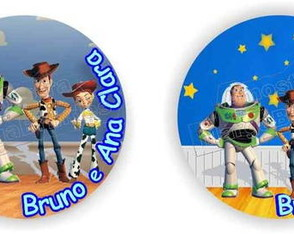Toy story mouse pad redondo