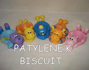 KIT PORTA DOCES BACKYARDIGANS DE BISCUIT
