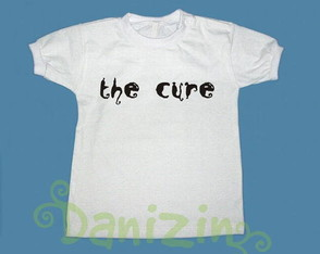 T-Shirt Bebê e Infantil THE CURE