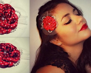 flor-casquete-pin-up-vermelha