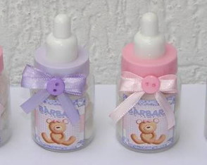 Mini mamadeiras decoradas (BB504)