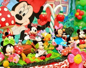 decoracao-de-festa-minnie-vermelha
