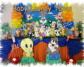 decoracao-de-festa-baby-looney-tunes