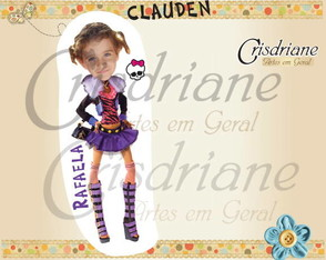lembrancinha-ima-clauden-monster-high