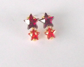 brinco-red-star