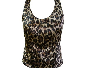 Regata Animal Print- Onça >> Tam. P