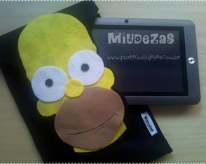 case-para-tablet-do-homer-simpsons