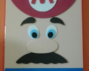 Caderno Decorado MARIO BROS