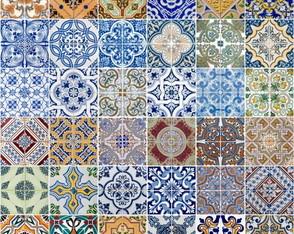 Adesivo azulejos portugueses pedacinho de gente by sikelly elo7 - Azulejos portugueses comprar ...