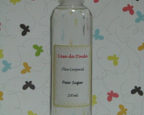 Óleo Corporal Pear Sugar 200ml