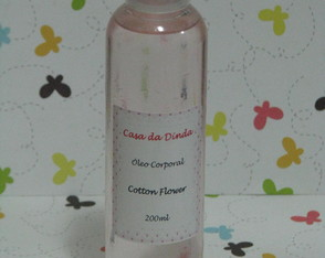 Óleo Corporal Cotton Flower 200ml