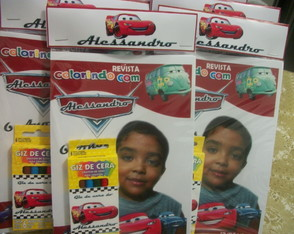 Kit Colorir carros