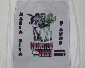 Mochila Esportiva Monster High