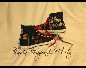 ALL STAR PERSONALIZADO vampire diaries