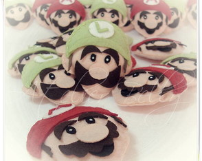Chaveiros do Super Mario Bross