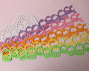 Borders Darling Cupcake (A388)