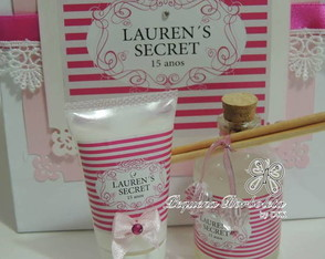 Kit 15 anos Lauren´s Secret (n.23)