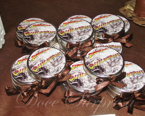 Latinha Personalizada Indiana Jones 5 cm