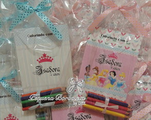 Kit Colorir Princesas