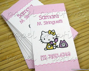 Calling Cards Kids- hello kitty