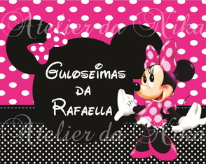 Arte Digital Da Minnie Rosa